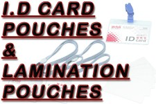 ID Card Pouches, Lamination Pouches