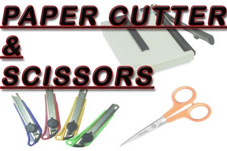 Paper Cutter, Scissors