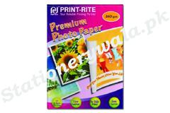 Photo Paper Print Rite A4 105GMS