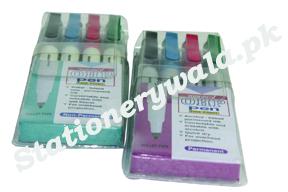 OHP Marker Set (4 pieces) Monami Brand