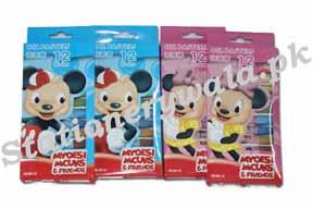 Oil Pastel 12pc Mickey Brand